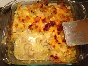 Baked Cheesy Cauliflower